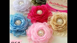 ... ,contoh gambar bross dari kain flanel, gambar2 bros membuat bunga flanel beserta ga...