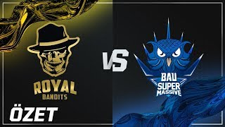 Royal Bandits ( RBE ) vs BAUSuperMassive ( SUP ) 1. Maç Özeti | 2018 VFŞL Kış Mevsimi Finali