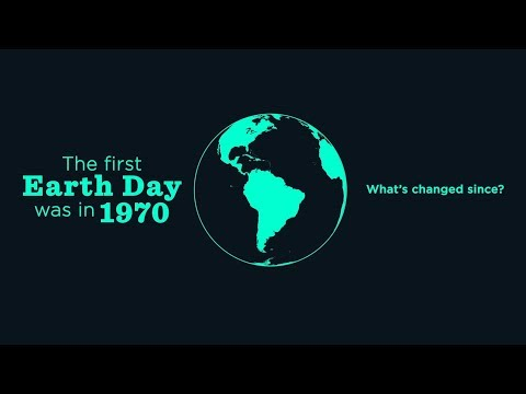 Earth Day 1970 – 2018: Sea Changes