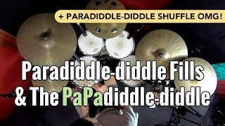 Sick Licks: Paradiddle-diddle Fills & The PaPadiddle-diddle