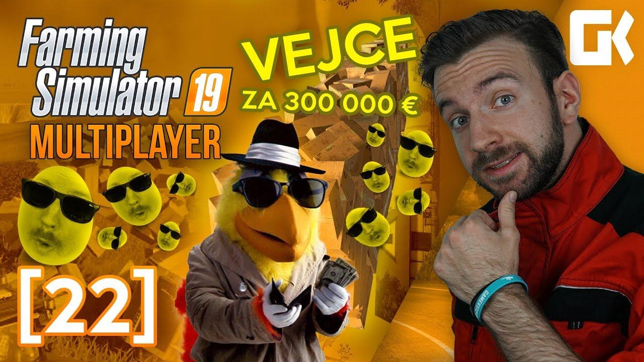 VEJCE ZA 300 000 €! | Farming Simulator 19 Multiplayer #22