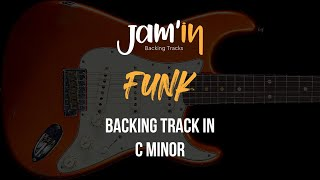 Funk Guitar Backing Track in C Minor