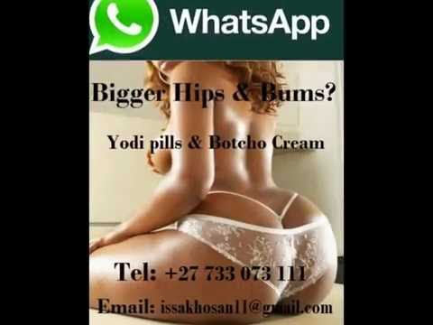 Botcho Cream, Yodi Pills for Bums & Hips Enlargement