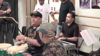 Festival Ray Gonzalez (ENSAYO)(REHEARSAL) Richie Flores Congas, Canta Josue Rosado, ANACAONA