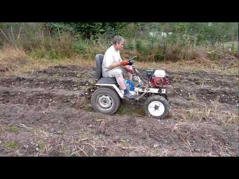 видео: Трактор из мотоблока Нева.