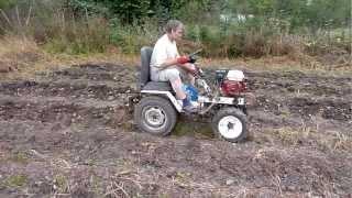 Трактор из мотоблока Нева.