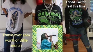 I wore Billie Eilish merch for a week and SHE CAME TO MY SCHOOL /sophomore | ugh_lay