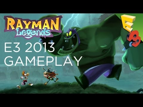Rayman Legends E3 Gameplay Trailer! Gameplay From Ubisoft's E3 2013 Press Conference