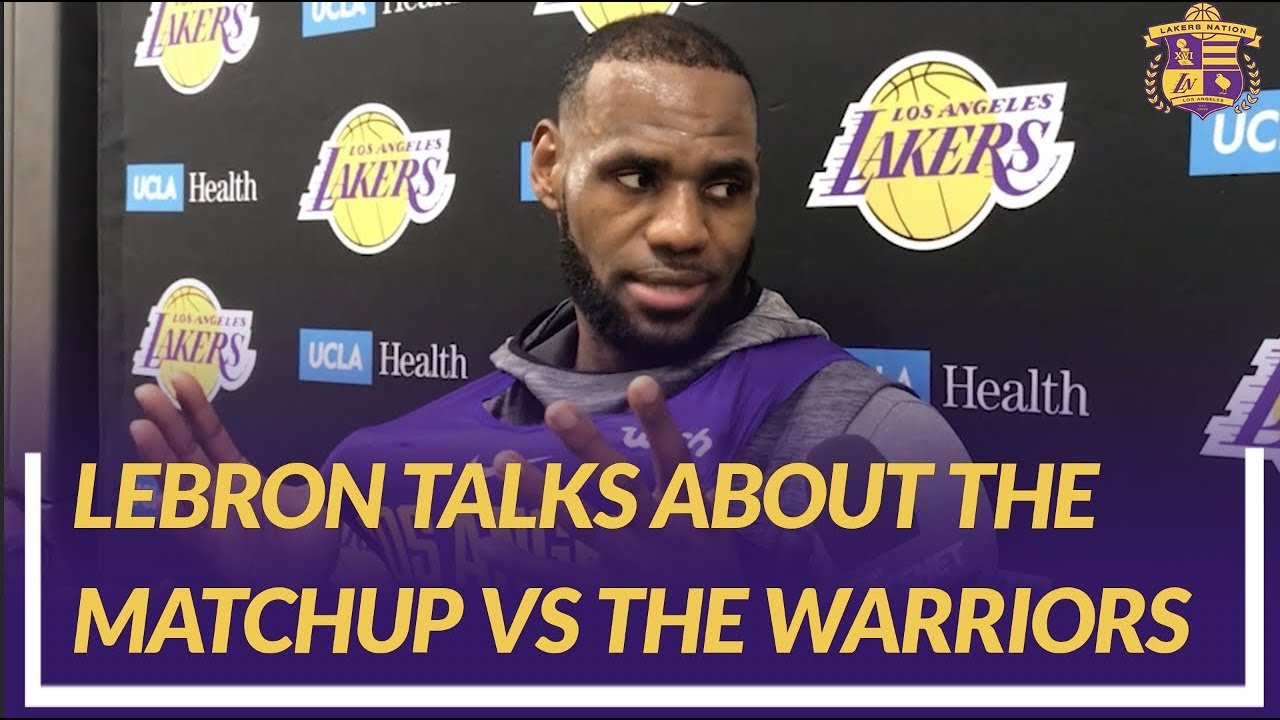 lakers-nation-interview-lebron-talks-about-how-lonzo-looks-the-matchup-against-the-warriors