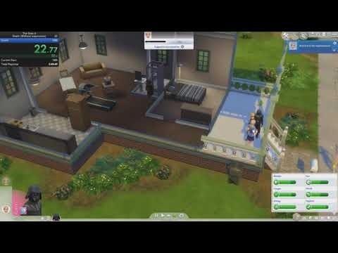 The Sims 4 - Death - Without expansions in 0m 59s 036ms by
