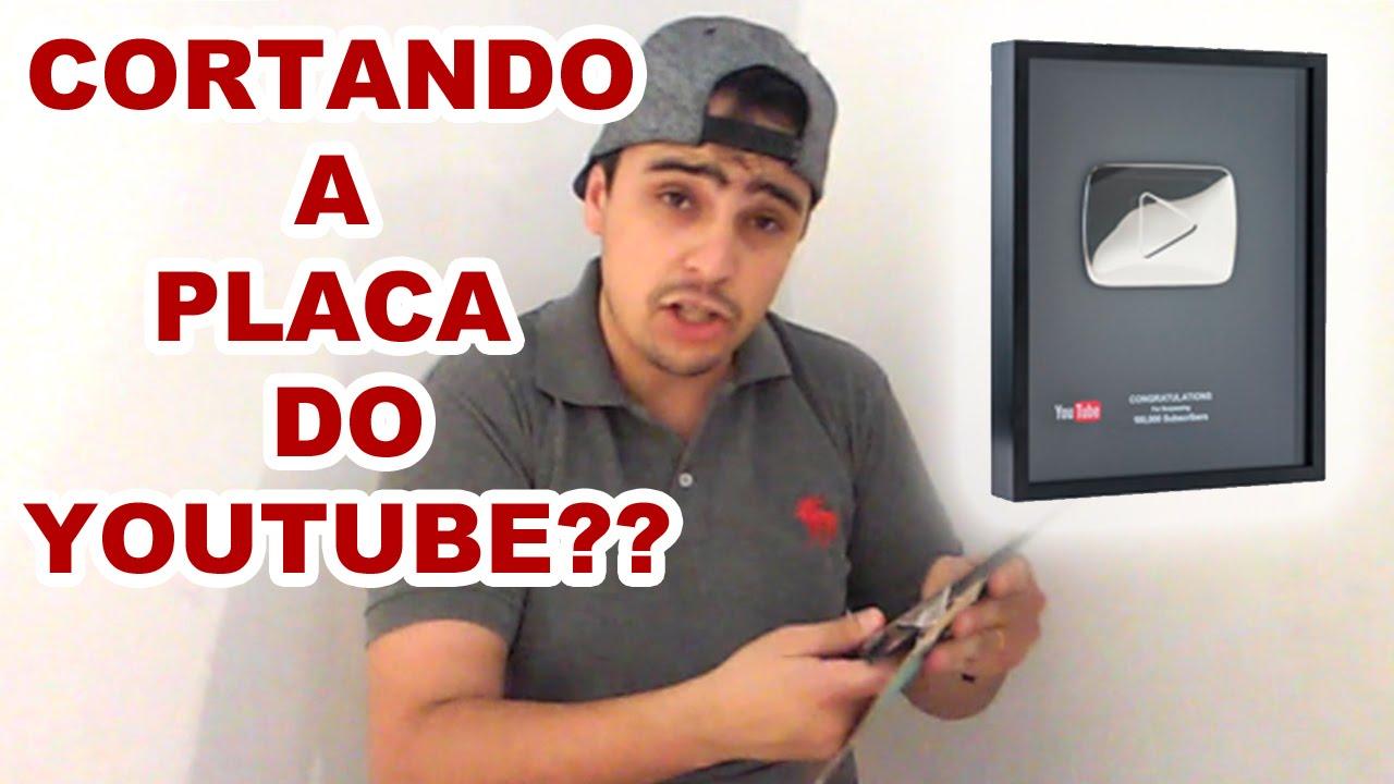 Cortando o botão do youtube