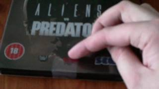 Aliens Vs Predator Hunter Edition Unboxing PS3 (HD)