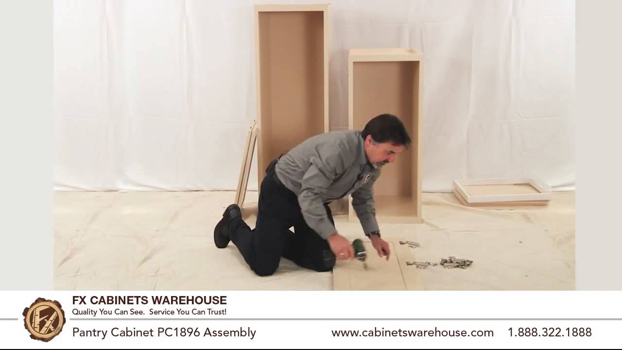 PC1896 Cabinet Assembly. FX Cabinetswarehouse