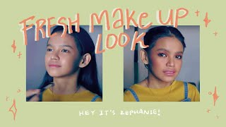 Hey! It's Zephanie! (Fresh Make Up Look)
