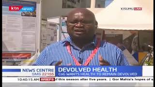 Devolved Health: Seth Panyako on universal health coverage