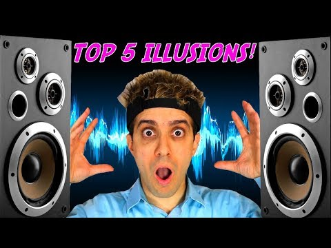 Green Needle or ROBOT STORM?  Top 5 AUDITORY illusions! Laurel Yanny + more!