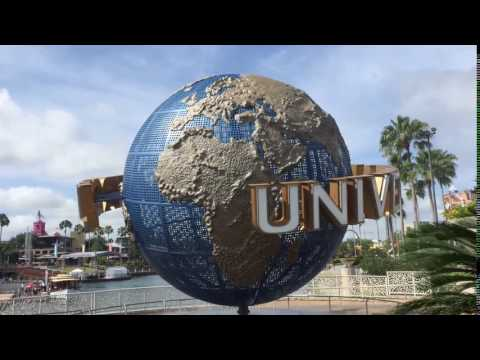 Universal Studios Orlando Globe Timelapse