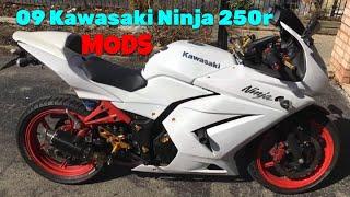 Ninja 250r mods