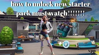 HOW TO GET LIVE NEW WILD WILDE STARTER PACK FORTNITE BATTLE ROYAL