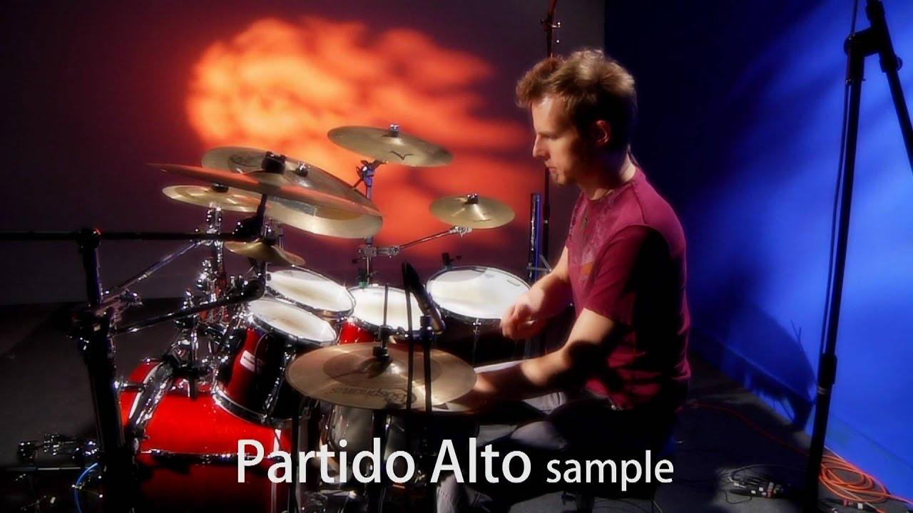 Goran Rista playing a Brazilian Partido Alto Groove.