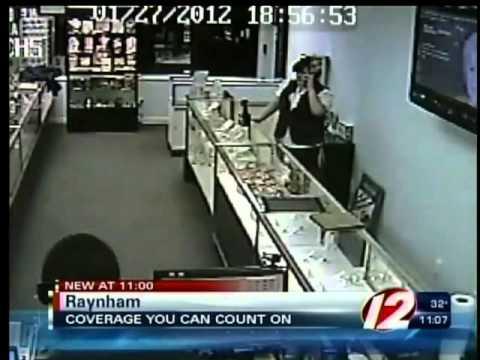 Raynham Jewelry Store Robbery YouTube