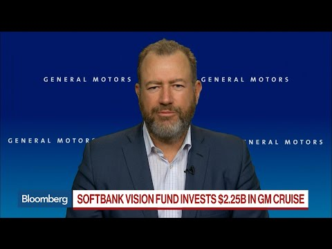 SoftBank Invests $2.25 Billion in GM Autonomous-Driving Unit