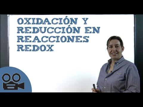 Reacciones redox: Oxidación y reducción