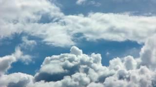 Cloud Timelapse HD  Gökyüzü Bulutlar Rahatlatıcı Uzun Video izle