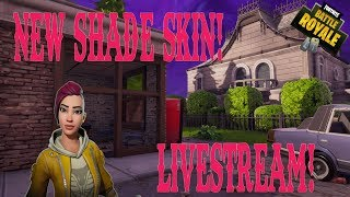 New Shade Skin! Solos | Fortnite Battle Royale Livestream!