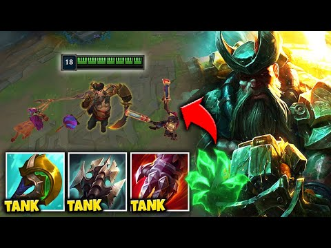 BECOME AN UNKILLABLE PIRATE GOD WITH TANKPLANK BUILD! - League of Legends