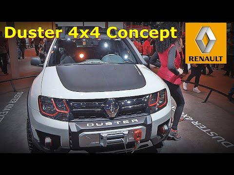 Duster 4x4 Extreme Concept Brazil - Motor Show 2016 - Do It Yourself - FVM