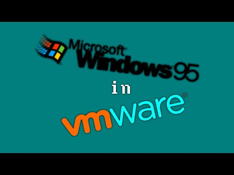How to Install Windows 95 with Microsoft Plus! in VMware