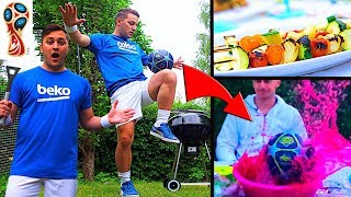 World Cup Final Barbecue Party...GONE WRONG! 😱⚽️ (SkillTwins)