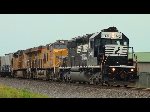 Railfanning Highlights of 2014 Part 8: NKP/MGA Heritage & Other Special Units, Jersey & PA Trains!