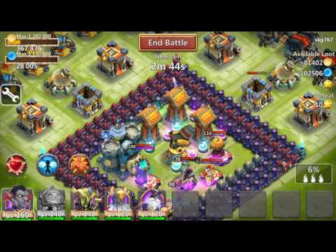 Castle Clash Hack - Hack All Legendaries Heroes Skill  (Root Needed)