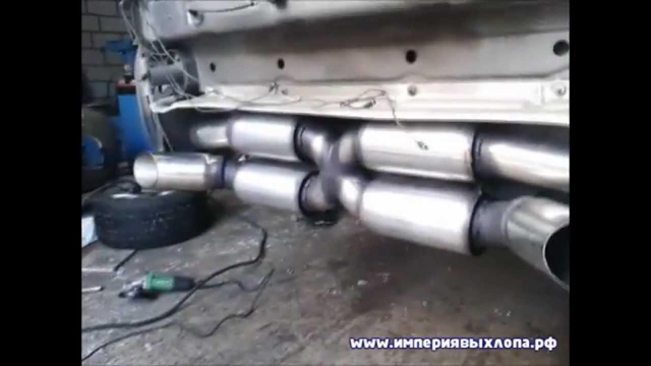Тюнинг выхлопной системы для Porsche 911