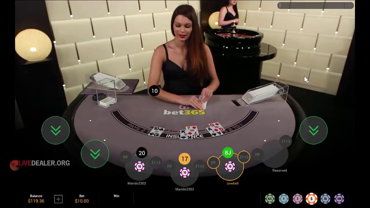 Playing Bet365 Live Casino Youtube