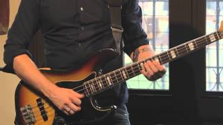 "Pete Griffin plays ""Cornelius Drives a Truck"" by Gryphon Labs - Bass Playthrough Video"