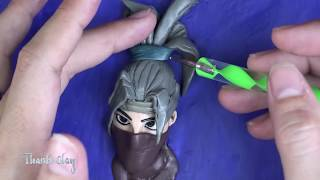 Kuno skin (fortnite Battle Royale) - Polymer clay tutorial
