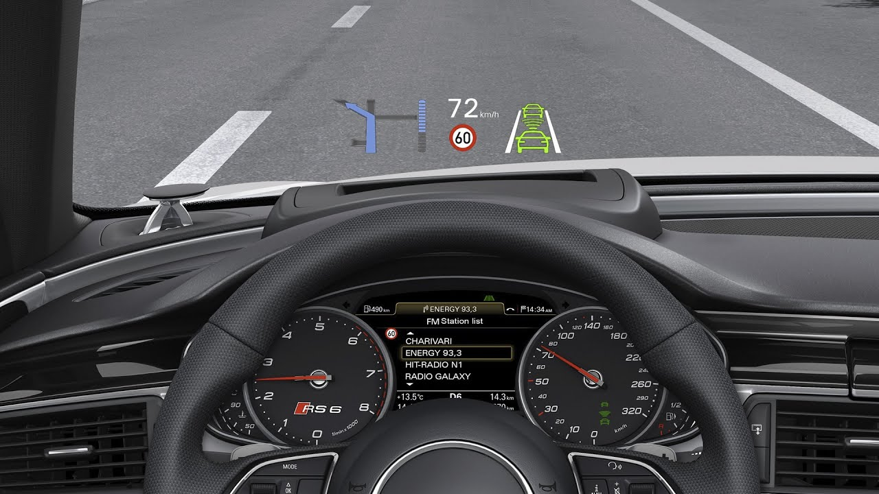 Hud Head Up Display Opel Insignia B