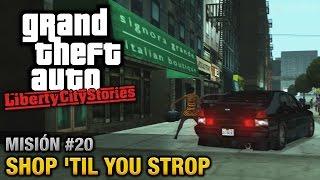 GTA Liberty City Stories - Misión #20 - Shop 'til you Strop (Español / Sin Comentario - PCSX2)