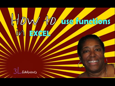 Minute Course How To Use Functions In Excel