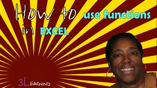 3 Minute Course: How To Use Functions in Excel - Free Excel Courses Online (sample)