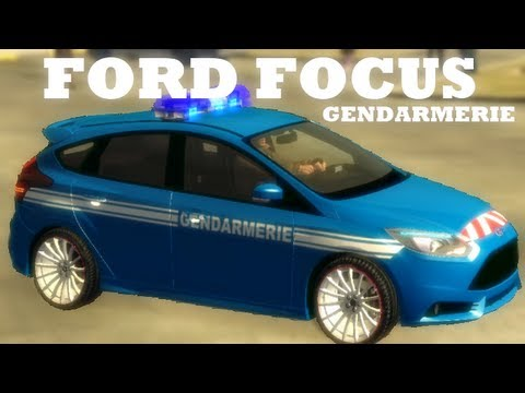 gta iv mods french ford focus gendarmerie youtube. Black Bedroom Furniture Sets. Home Design Ideas