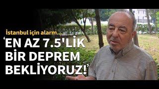 İstanbul İçin Alarm! Gündoğdu: En Az 7.5'lik Bir Deprem Bekliyoruz!