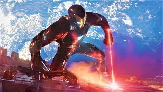 Spiderman And Ironman All Fight Scene (HD) | Avengers Infinity War Movie Scenes