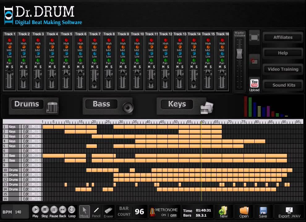 best beat maker software make your own trance tracks youtube. Black Bedroom Furniture Sets. Home Design Ideas
