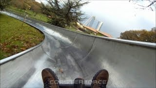 Bobsleigh on-ride HD POV, Oakwood Theme Park, Wales