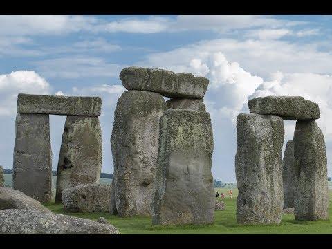 Prehistoric Monument Stonehenge, Wiltshire, United Kingdom, 2014