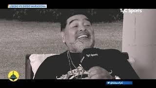 Libero VS Maradona: Qué otros trabajo tuvo en su vida, qué hizo con su primer sueldo